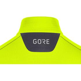 GORE WEAR M Camiseta Térmica Manga Larga Cremallera Hombre, neon yellow/black